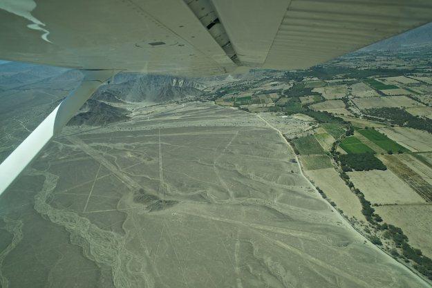 Übergang zu den Nazca-Linien