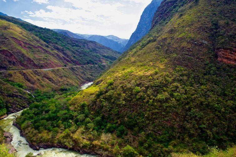 Canyon Rio Utcubamba