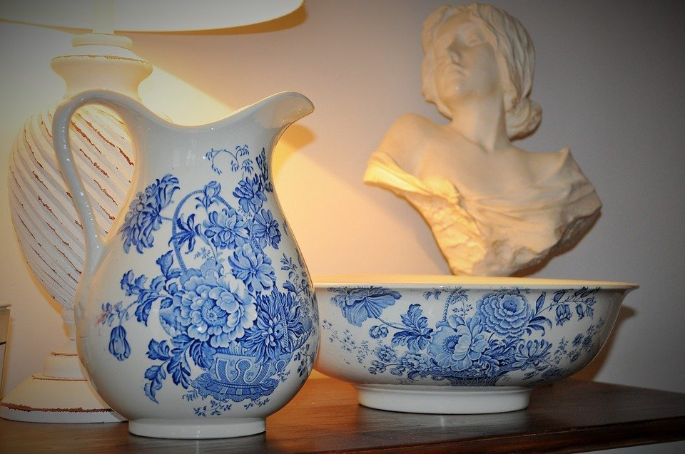 Capodimonte porcelain