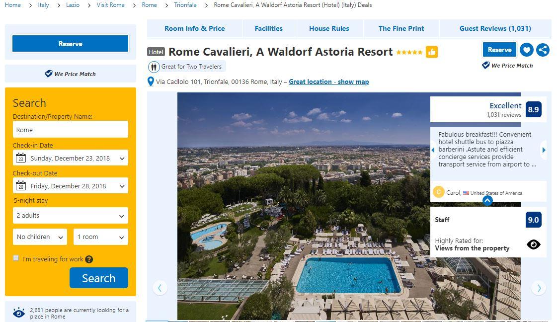 Booking.com: how to book an accomodation