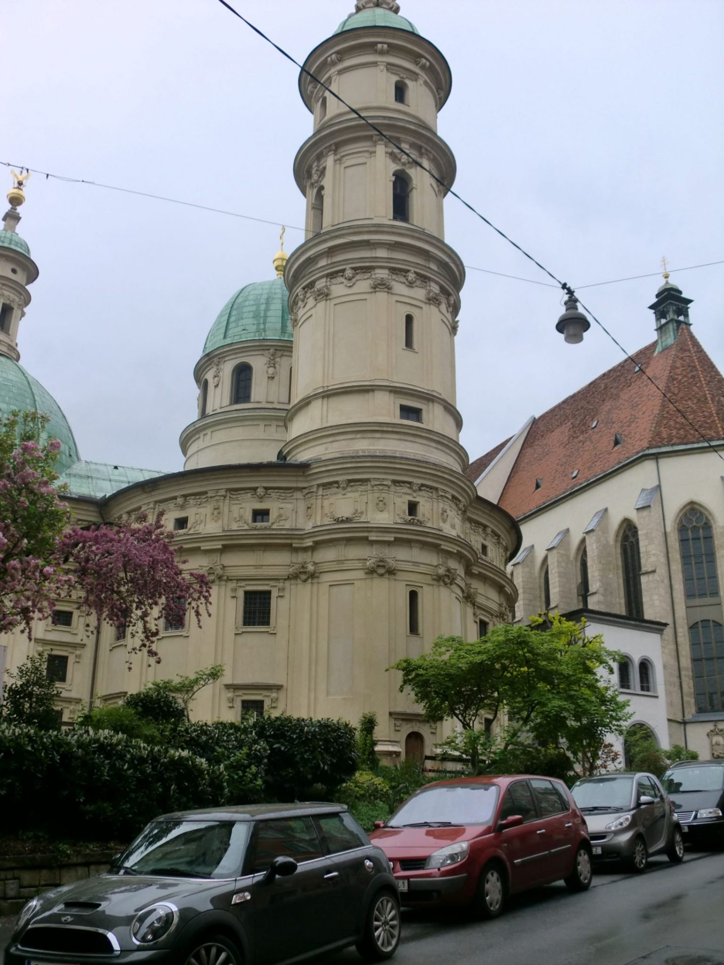 Graz church 0 - Graz: tradition and modernity