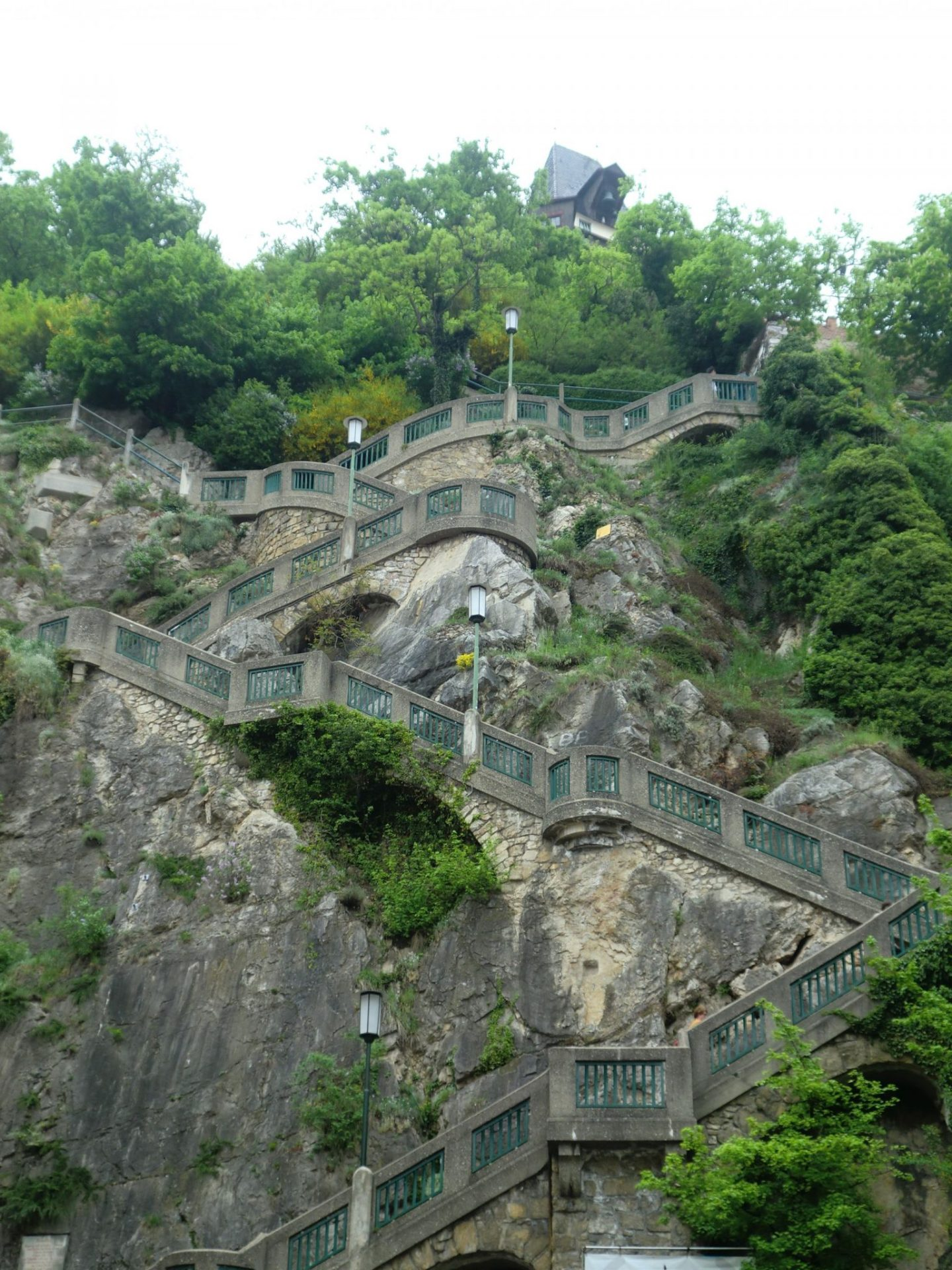 Graz stairs - Graz: tradition and modernity