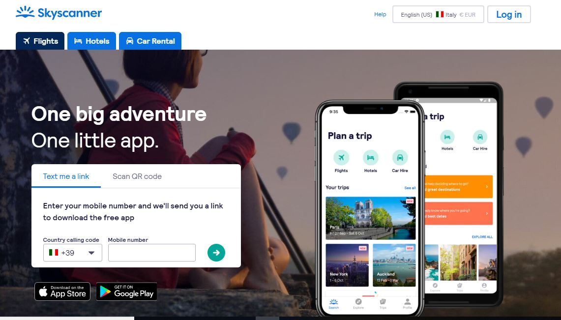 cheap skyscanner flights app