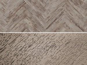 Vinylboden zum kleben im Fischgrät Design Project Floors Fischgrät PW3080HB