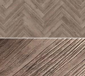 Vinylboden zum kleben im Fischgrät Design Project Floors Fischgrät PW3611HB
