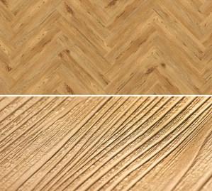 Vinyl Bodenbelag zum kleben im Fischgrät Design Project Floors Fischgrät PW3840