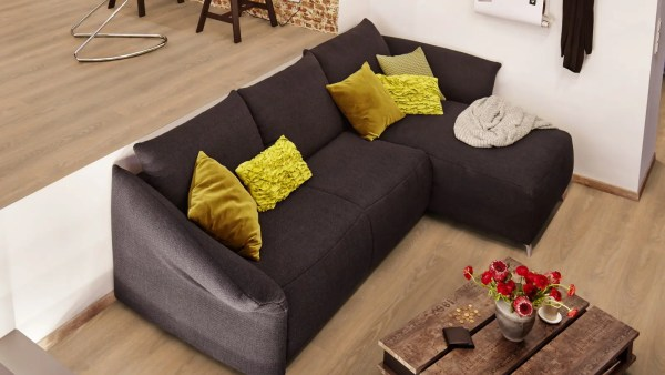 Wohnzimmer mit Project Floors SPC-Core Collection_PW4011