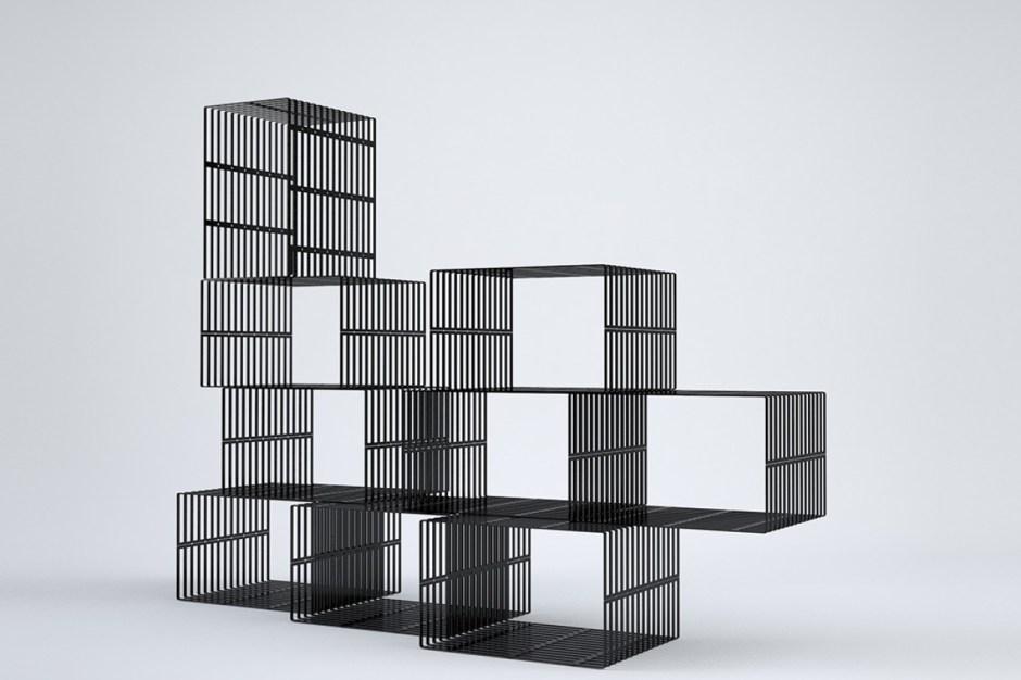 bibliotheque-design-acier