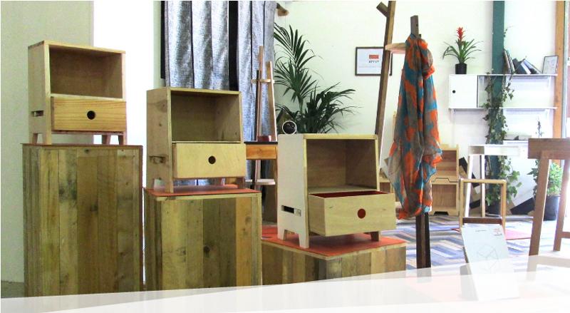 meuble-ecoUn meuble éco conçu par l'association Api'Up-concu