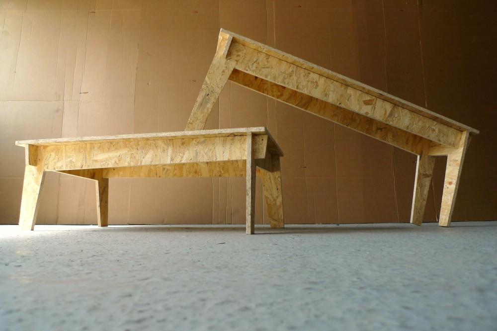 Mobilier éco design de Jules & Pierre