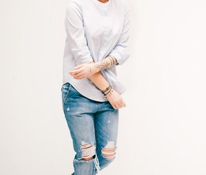 Streetstyle Jeans Denimlook