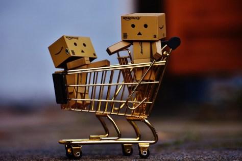 Einkaufen Shopping Einkaufwagen