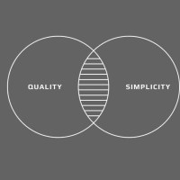 The way to create something great is to create something simple