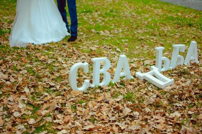 Слово свадьба из пенопласта