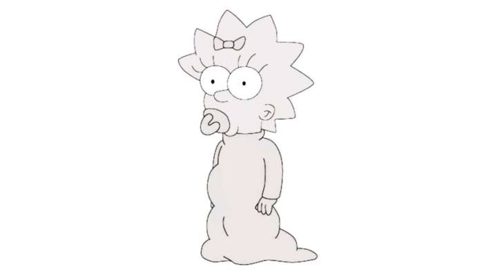 How To Draw Maggie Simpson – Images