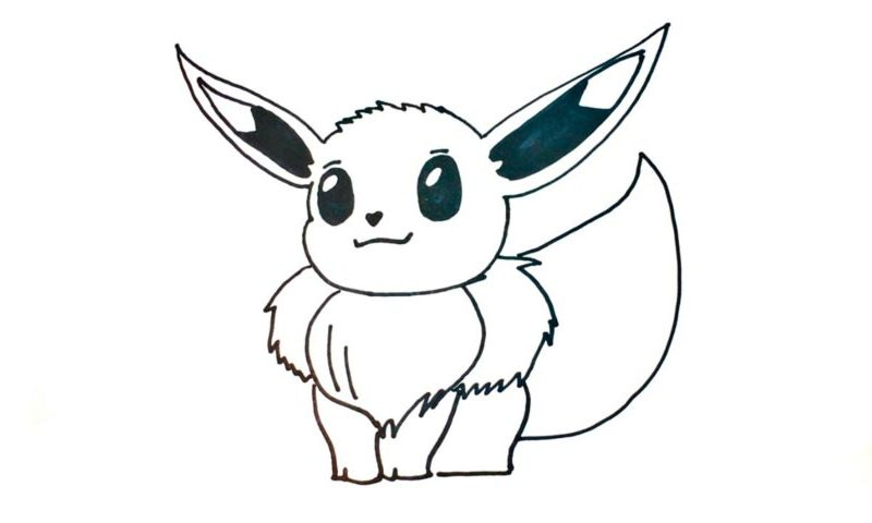 How To Draw Eevee Pokemon My How To Draw
