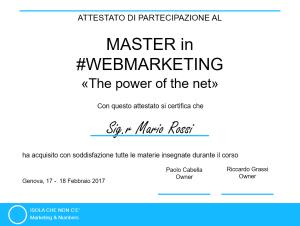attestato2018 corsowebmarketing