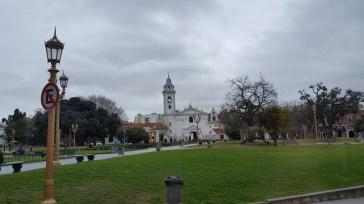 Church at Entrance