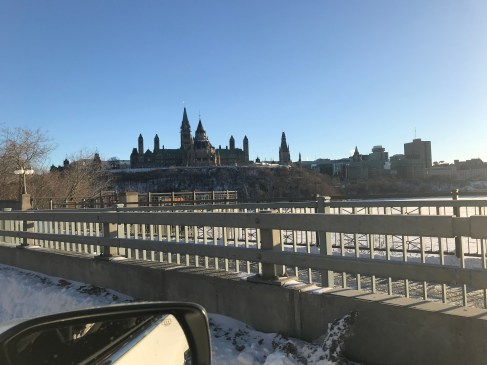 Parliment Hill from the Quebec side