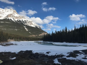 Athabasca Falls - Top Side
