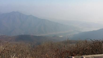 View over the Han River valley