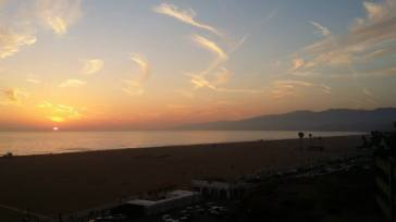 Almost forgot - most gratuitous picture of all - sunset Santa Monica.