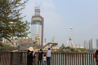 amsil area - amusement park surrounded by a lake. — at Jamsil Olympic Stadium.