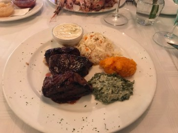 Ostrich- its whats for dinner. Seriously - very good