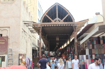 Old Dubai - basically a gauntlet to avoid purchasing something