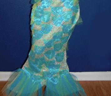 Istail pattern ng mermaids.