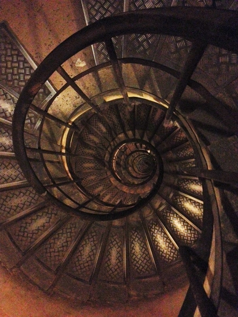 284 steps to the top
