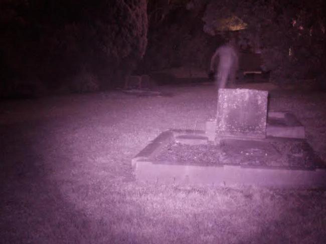 Ghost captured