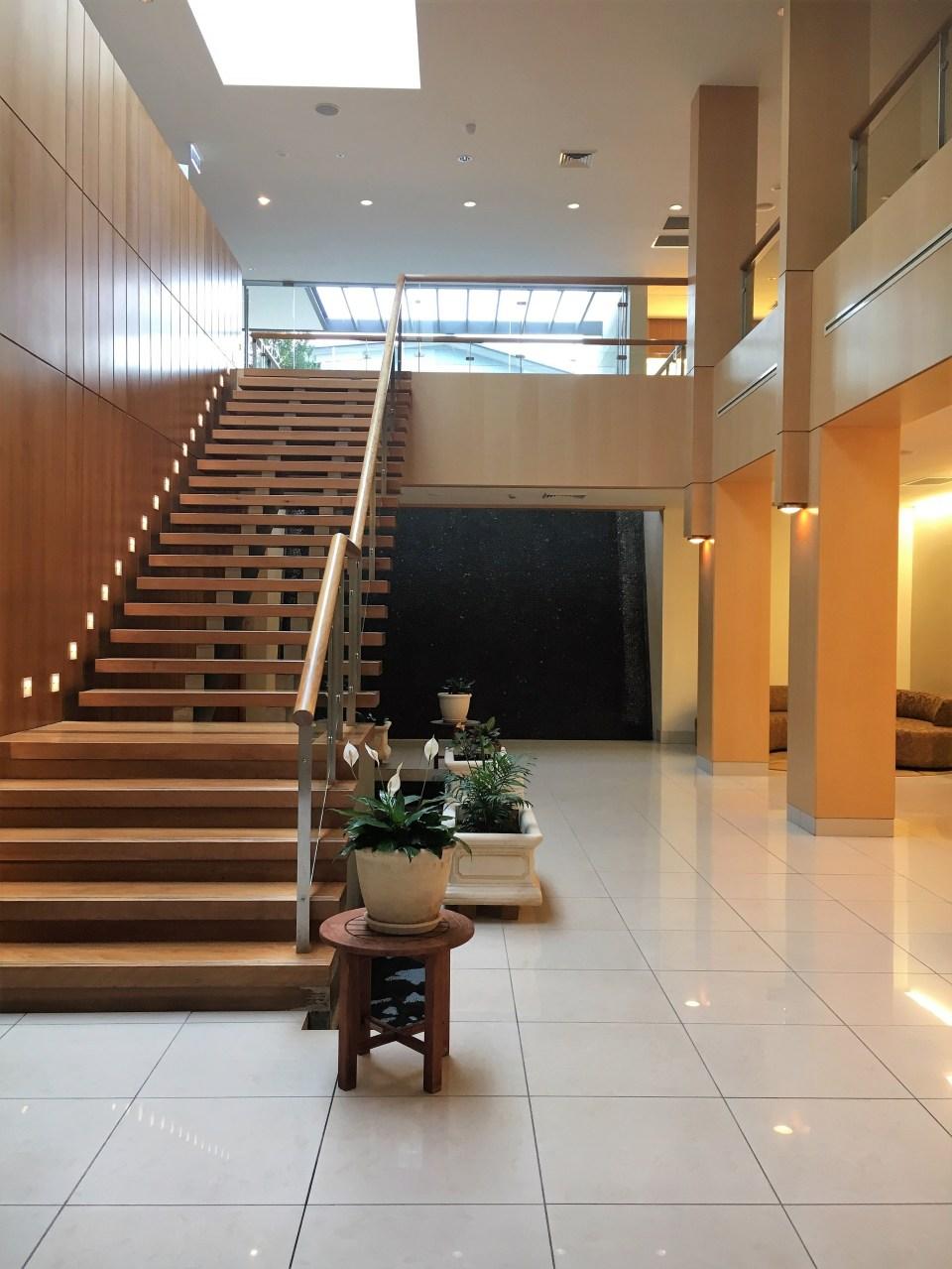 Foyer of the Golden Door