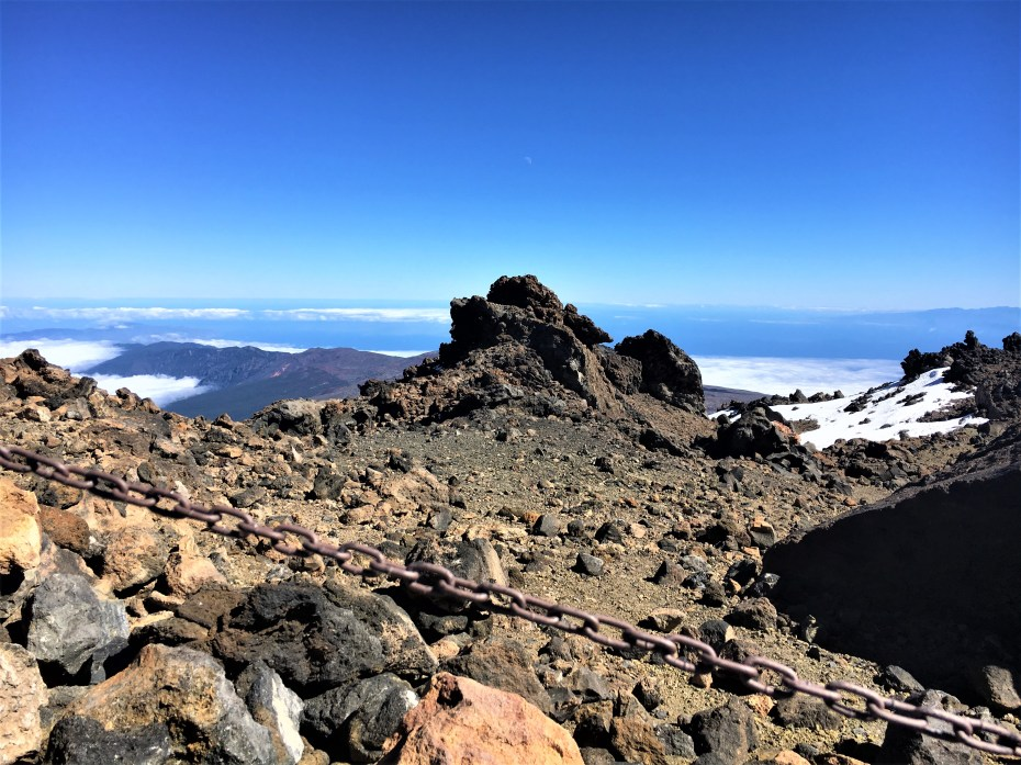 Teide mountain volcano