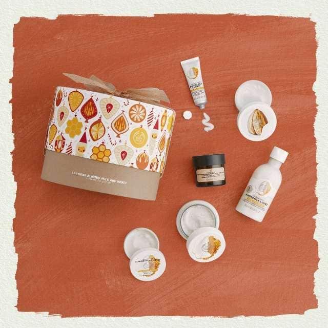 Soothing Almond Milk & Honey Gift Pack
