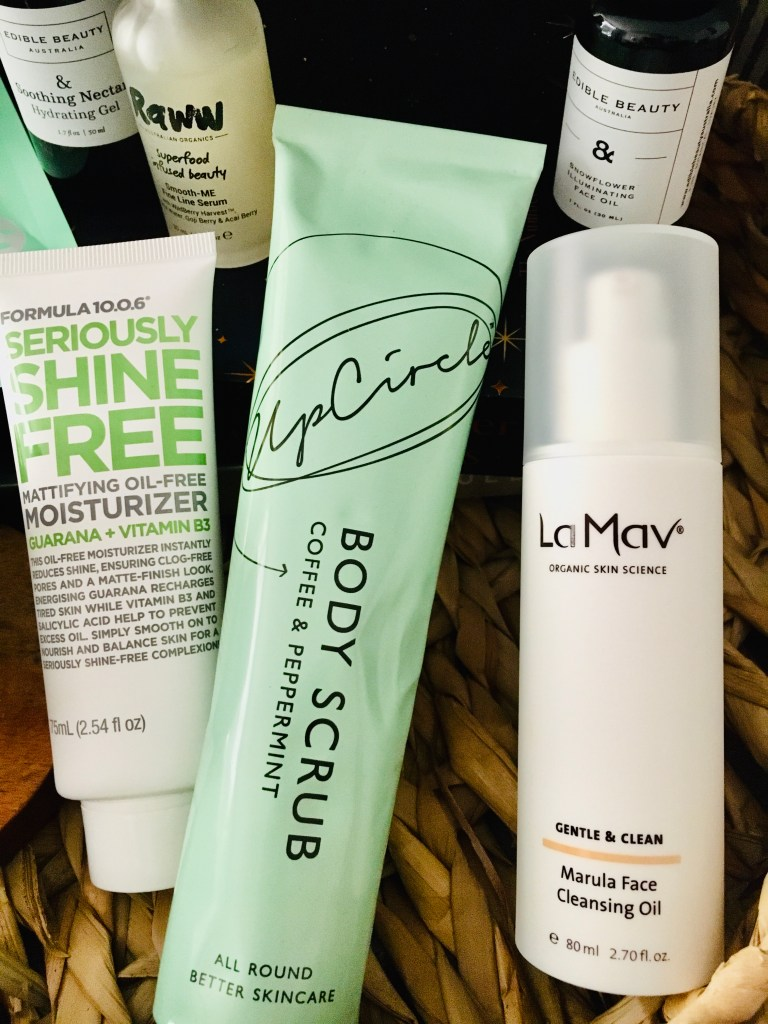 the beauty products I have been using in self-isolation