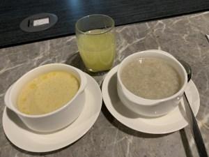 マニラ空港-PAGSSラウンジでの食事3