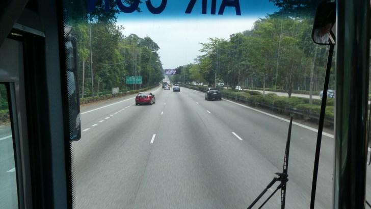 シンガポール-イミグレーションへの道