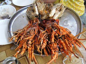 Nourriture à Zanzibar