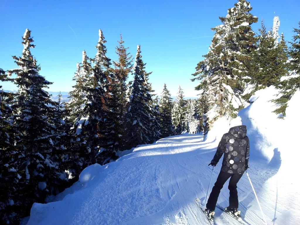Ski au Semnoz en Haute Savoie