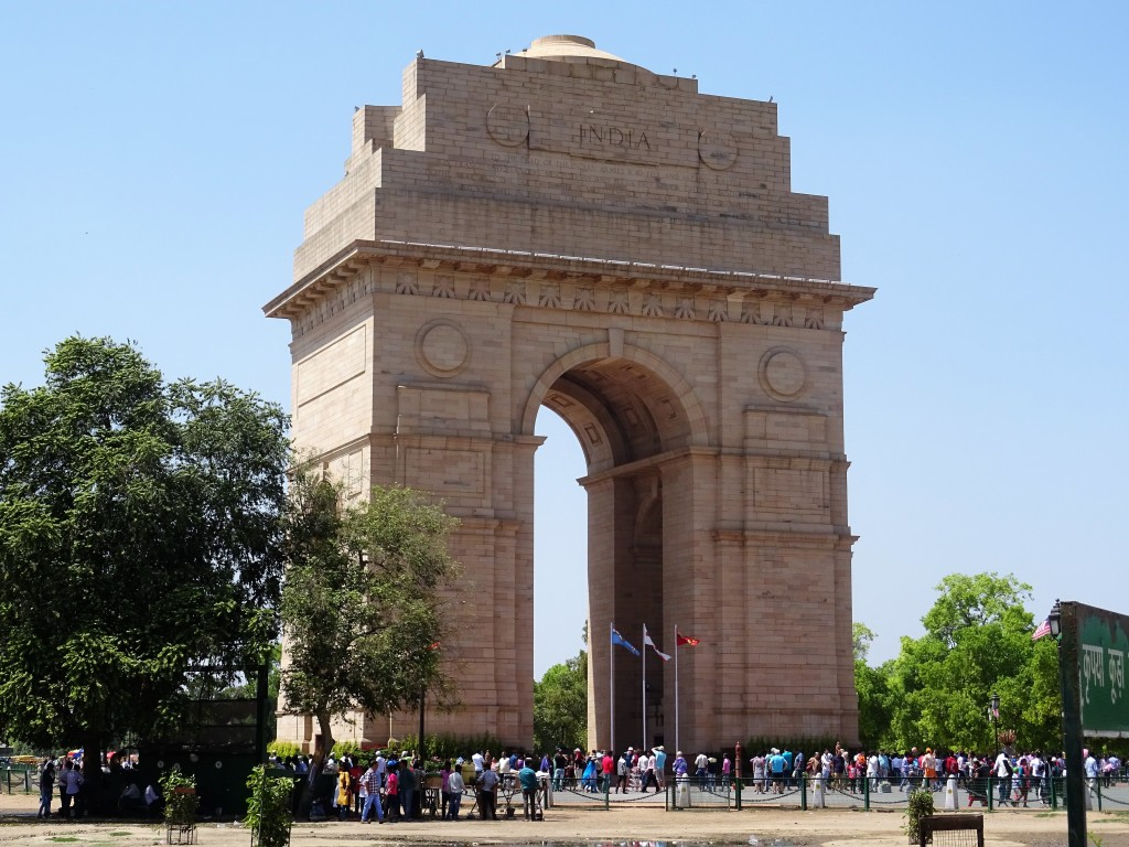 La porte de l'Inde à Delhi