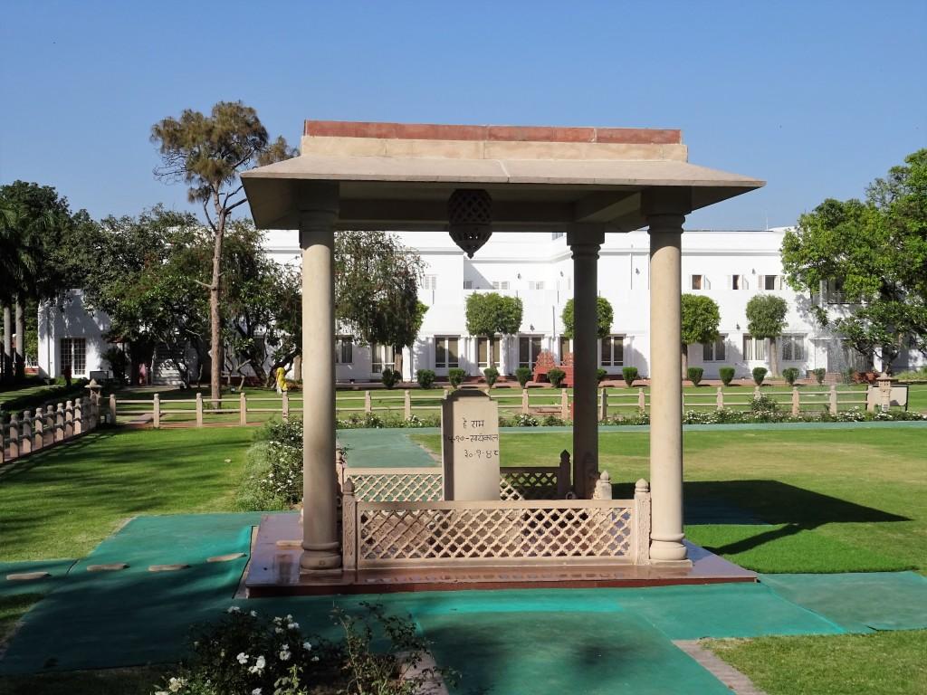 Mémorial de Gandhi à Delhi en Inde