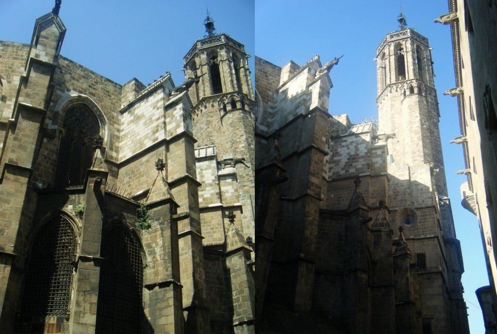 Eglise à Barcelone