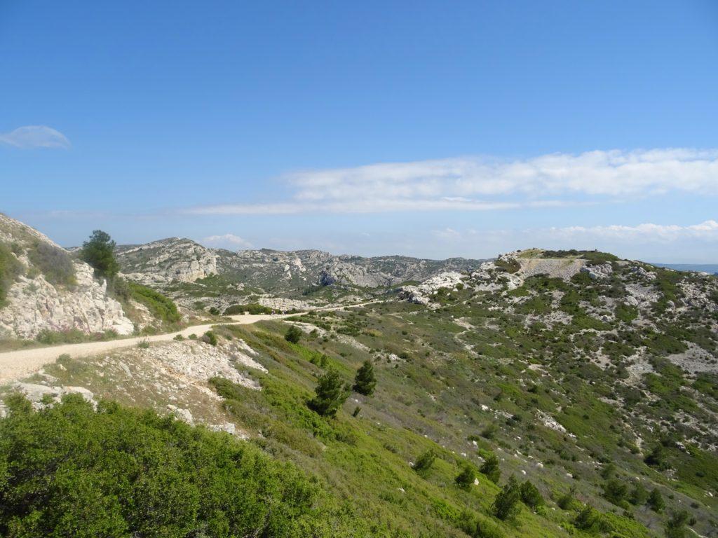 paysage à Niolon