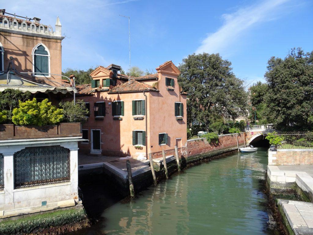 Quartier du Castello à Venise en Italie