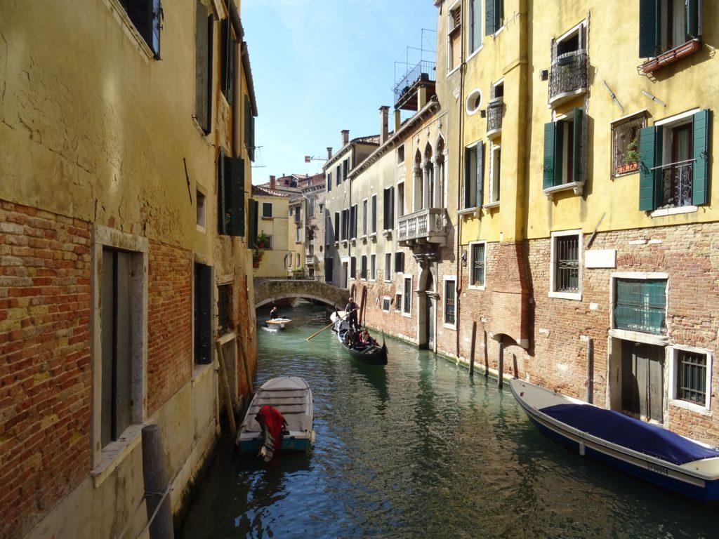 Ruelles venise en Italie
