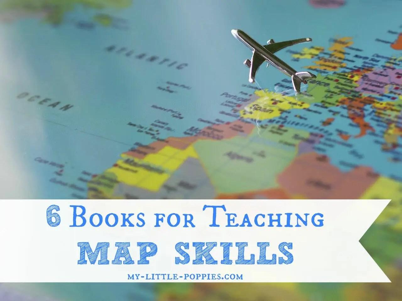 6 Books For Teaching Map Skills