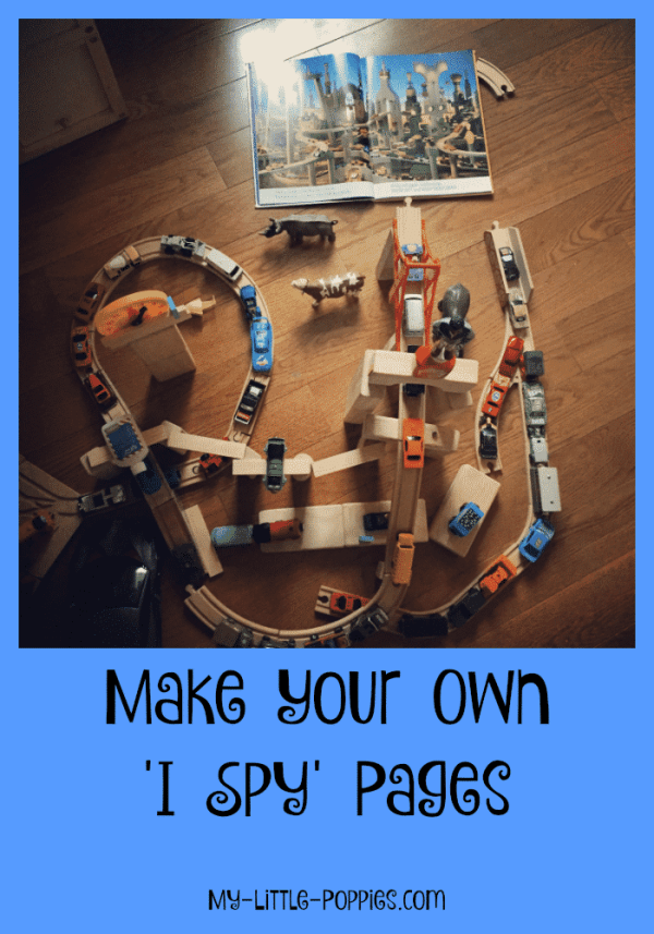 Make Your Own I Spy Pages | My Little Poppies