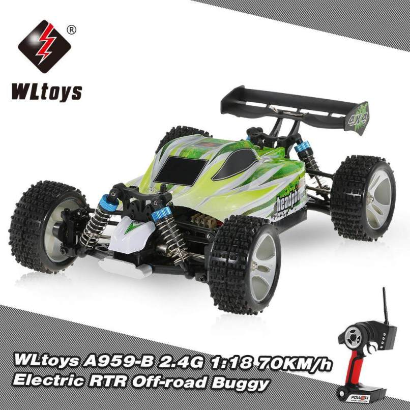 Wltoys A959 B 2 4g 1 18 Scale 4wd 70km H High Sd