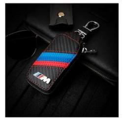 Casing Kunci Mobil Kulit Sarung HP Dudukan untuk BMW E90 F10 F30 E34 F20 X5 E53 E30 X6 X1 X3 E46 E39 1 Buah